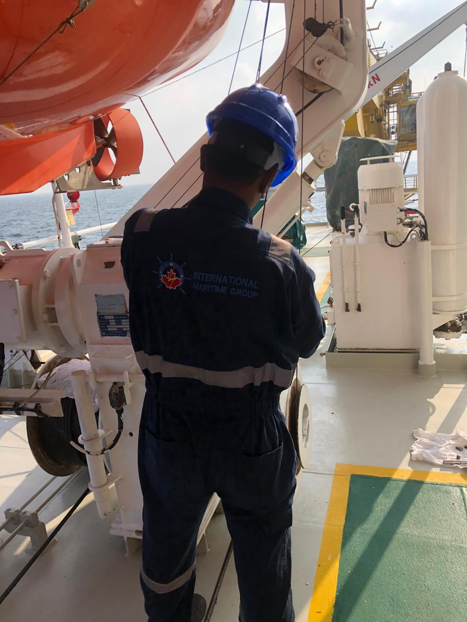 Lifeboat and Launching Appliances Annual Inspection at Dammam