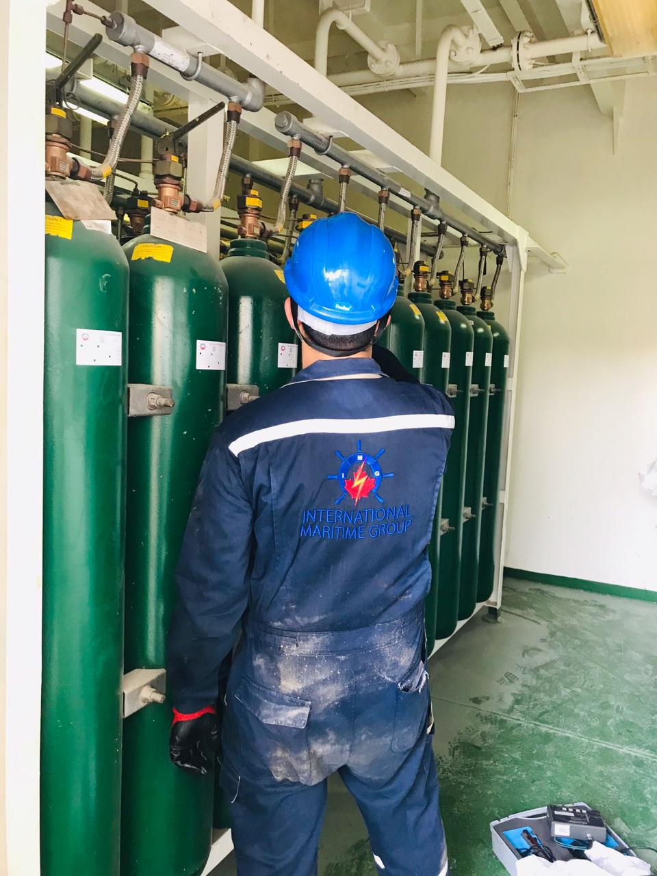CO2 Inspection at Dubai