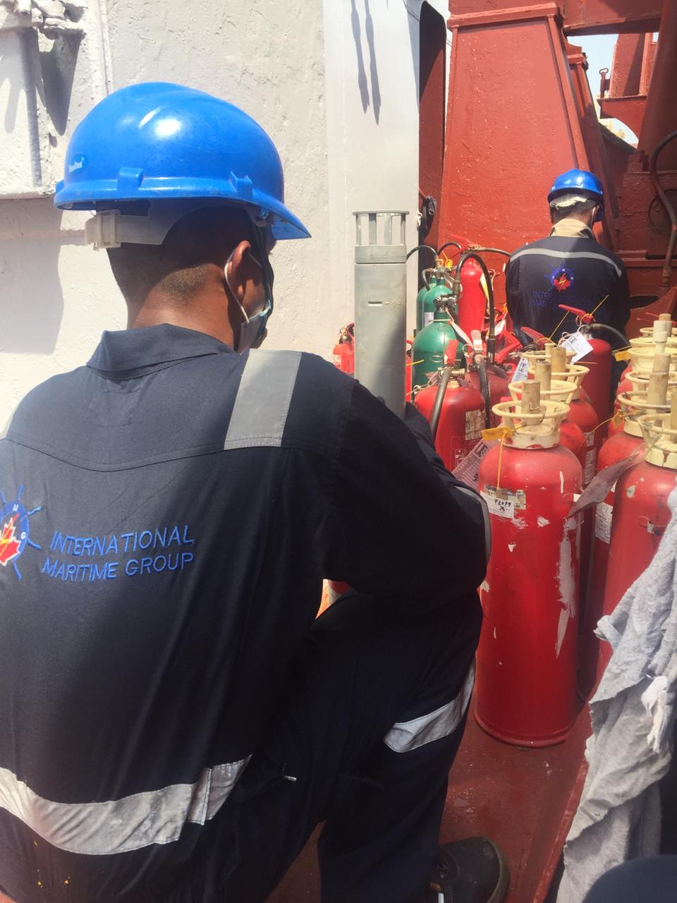 LSA & FFE Inspection at Dubai