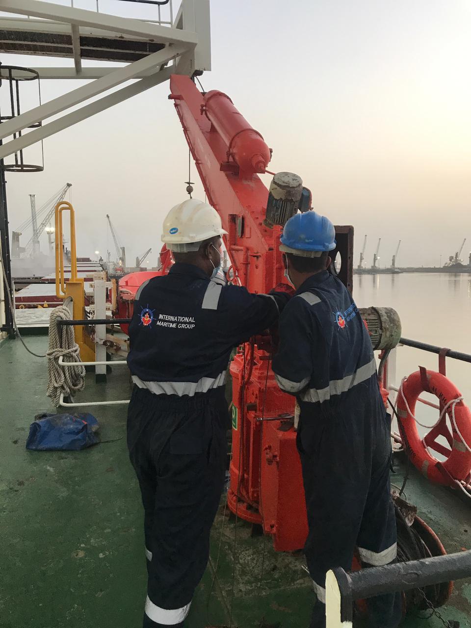 Winch Repair at Fujairah, UAE